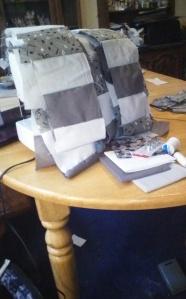 Progress in quilt making